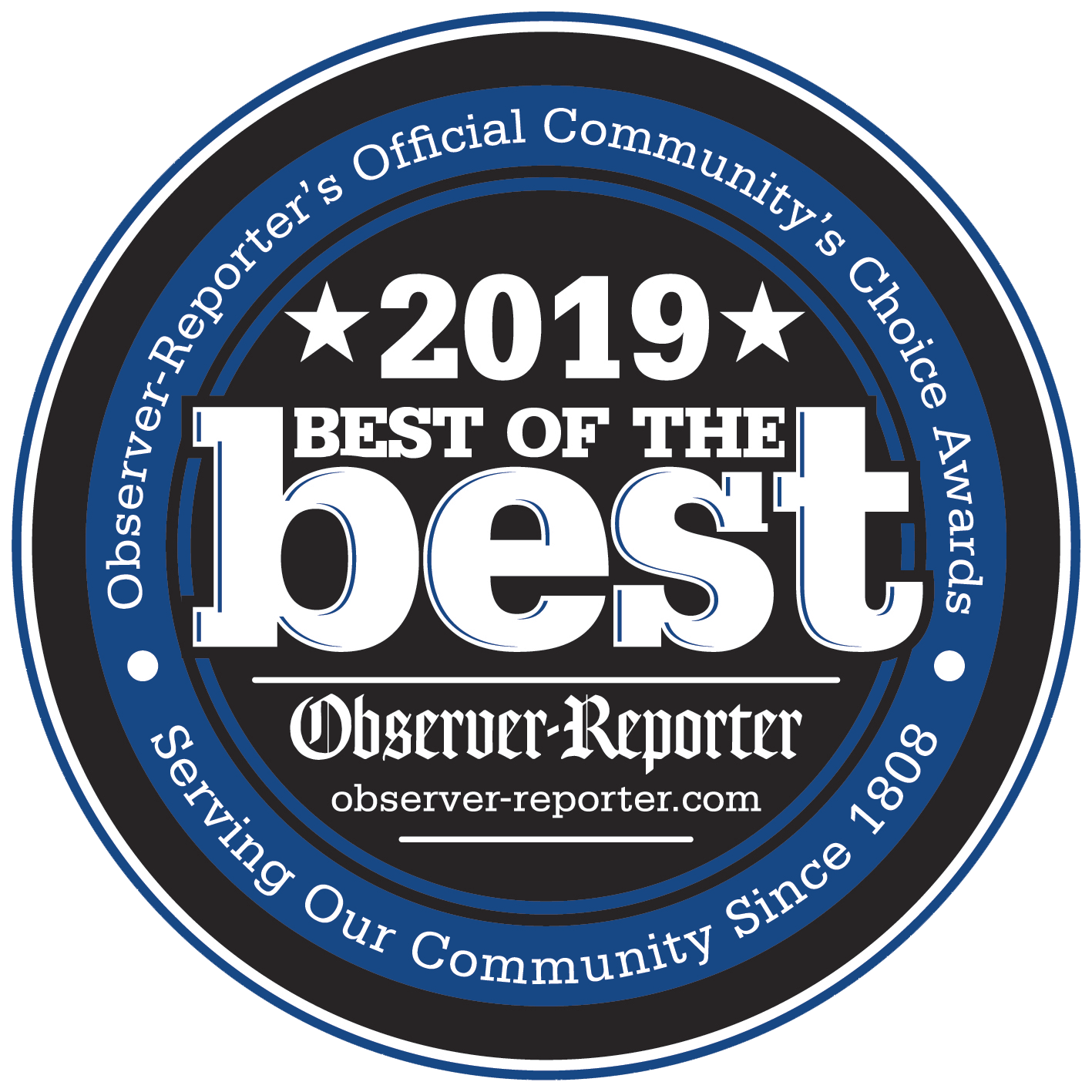 We are happy to announce we have been voted the best of the best in swimming pool installers in the Mon Valley for 2019!