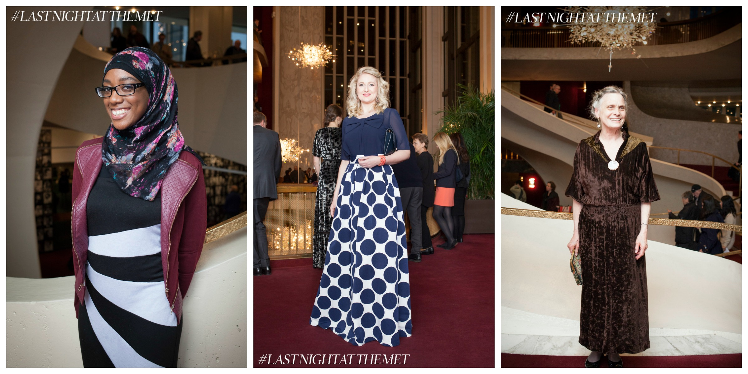 Photos by Rose Callahan for  Last Night at the Met