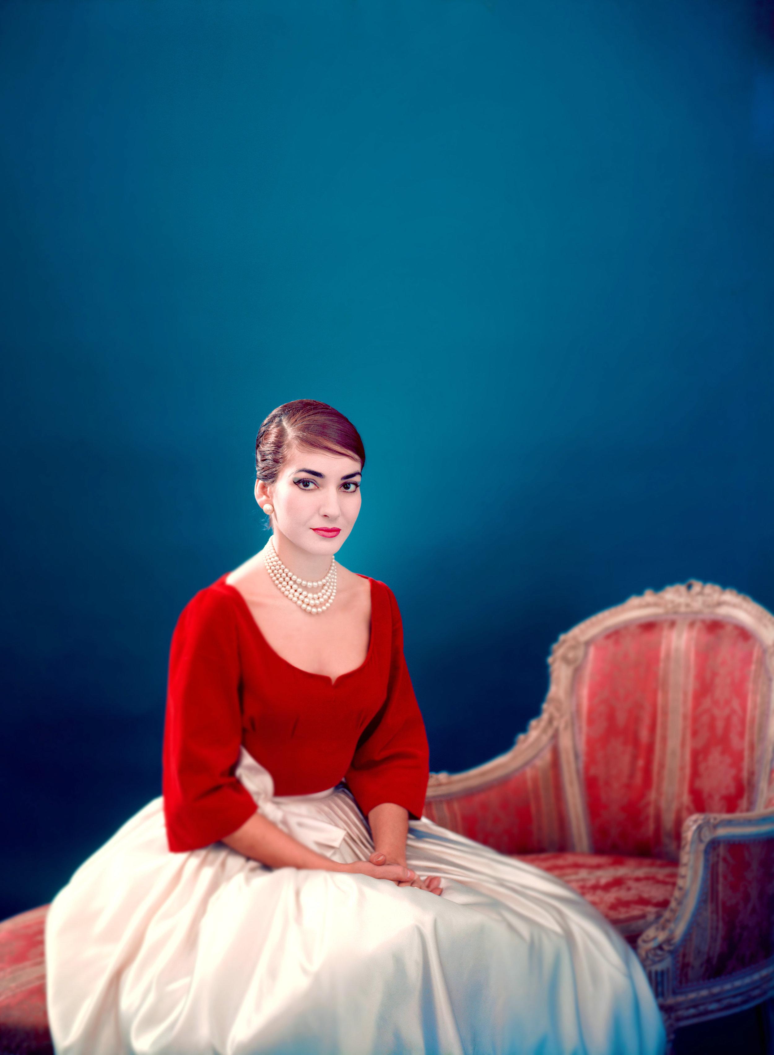 Maria Callas, New York 1958 © Fonds de Dotation Maria Callas