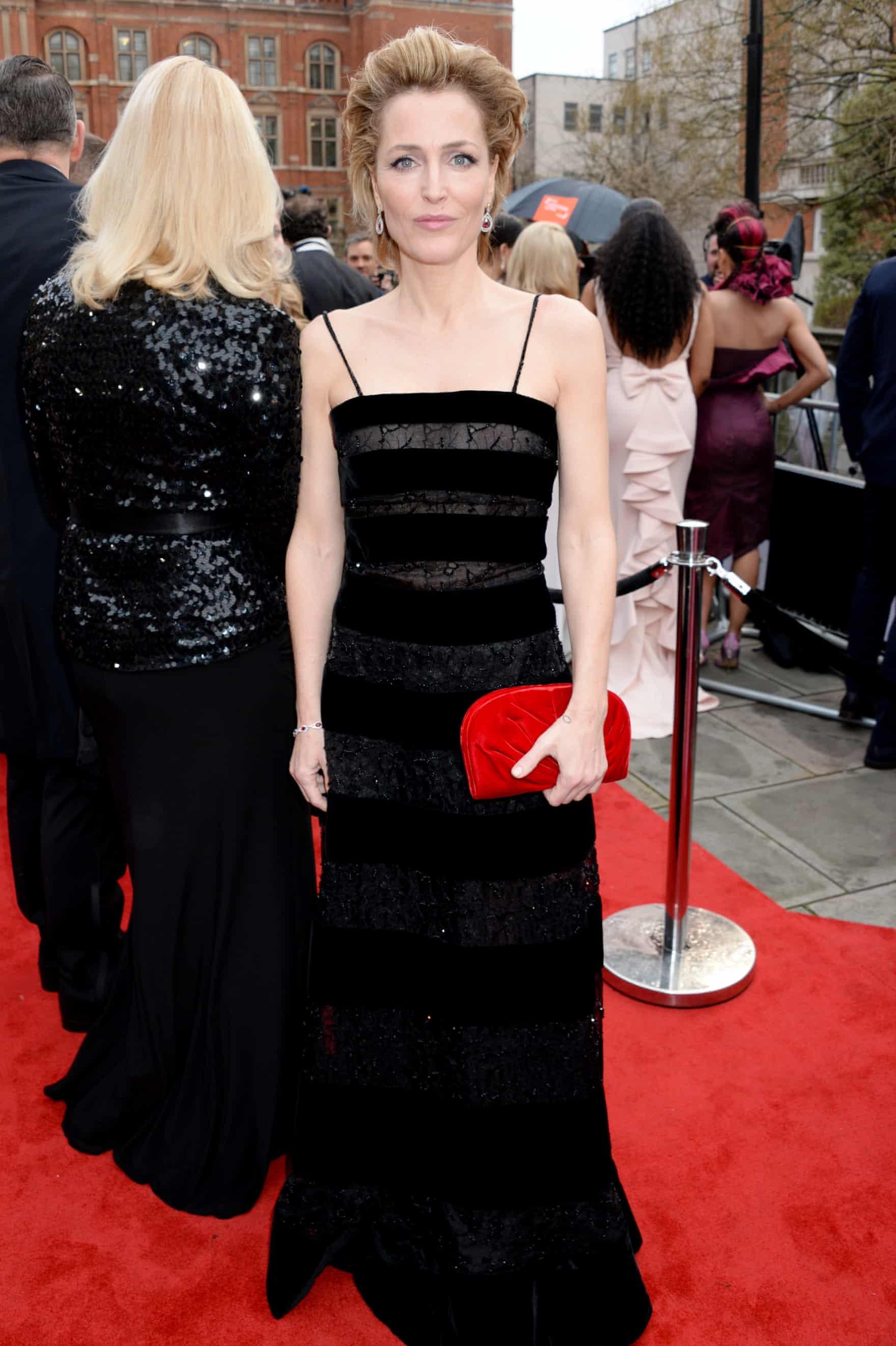 Gillian Anderson  Photograph: Richard Young/Rex/Shutterstock