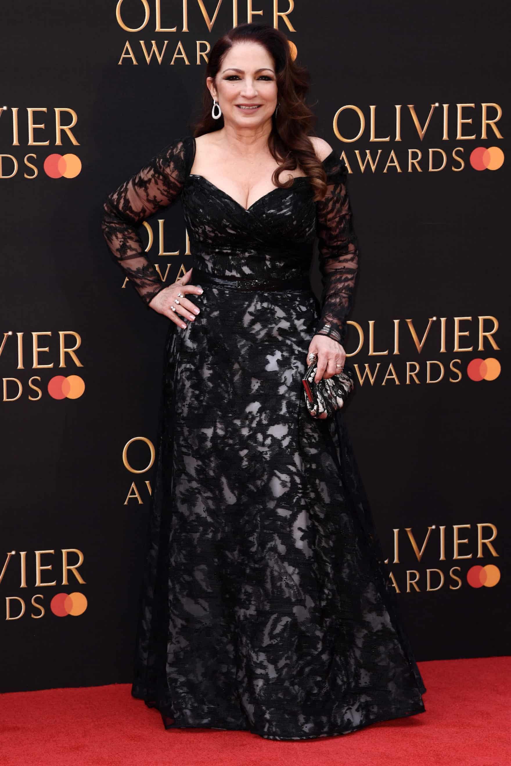 Gloria Estefan  Photograph: David Fisher/Rex/Shutterstock