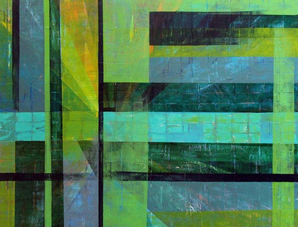 """""""parallelogram in green"""""""