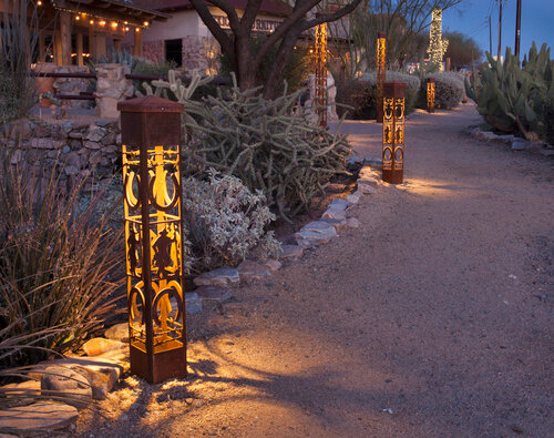 Scottsdale Phoenix Az Landscape Lighting Let There Be Light