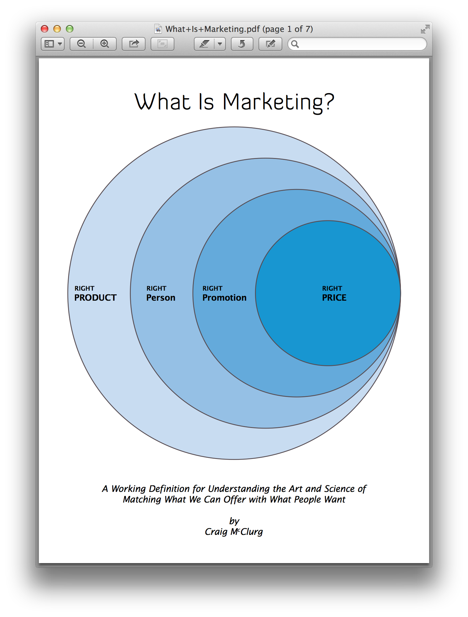 What Is Marketing?  The best definition of marketing ever in easy to understand language
