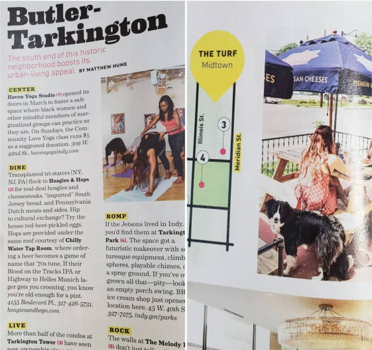 Check us out in the August Issue of Indianapolis Monthly! -