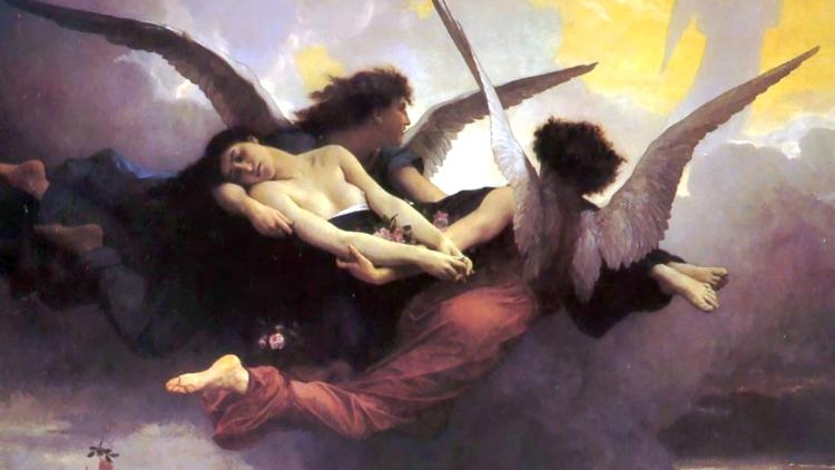 Soul Carried To Heaven , by William-Adolphe Bouguereau (c. 1878) - WikiArt (Public Domain)