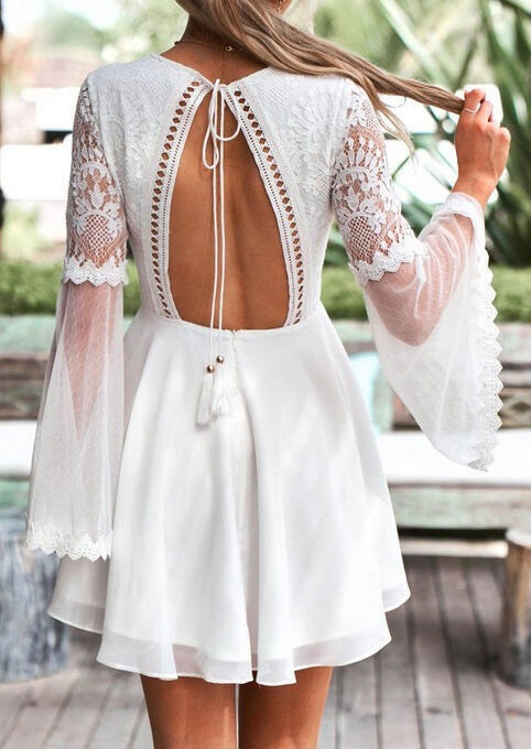 solid-tassel-hollow-out-flare-sleeve-casual-dress.jpg