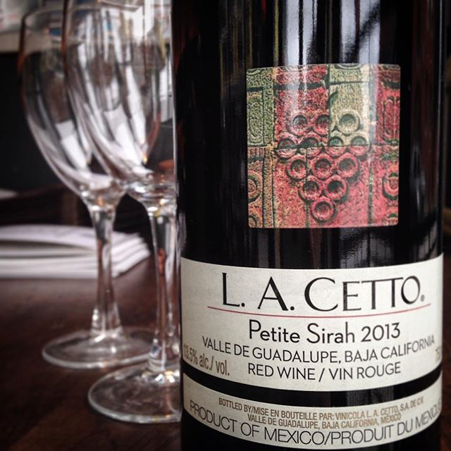 LA Cetto 2013 Petite Sirah Baka California, Mexico Ripe Blue and Black Fruit, Pepper Accents and Notes of Cocoa Try with our Jambalaya, Gumbo or Flatiron Steak!  #trythatwine #rouxstir #torontorestaurants #junctionto #junction #wine