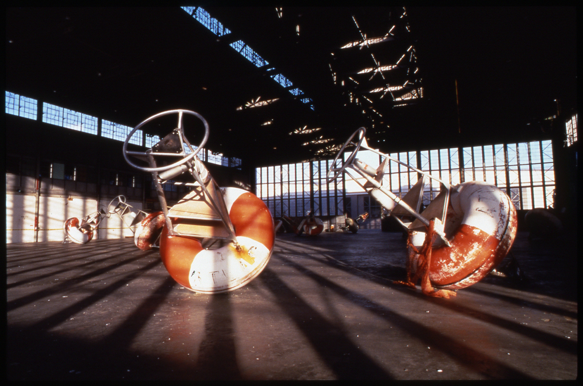 """""""It appeared as if the hangar doors parted, a big wave rushed in and left the beached buoys calling out with memories of the Sea."""" Anonymous"""