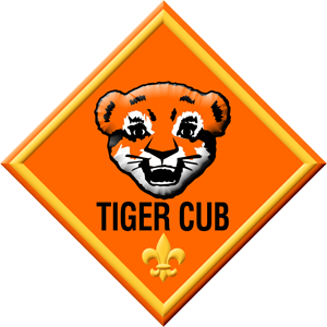 The Tiger Cub group is for boys who are in 1st grade or are 7 years old.