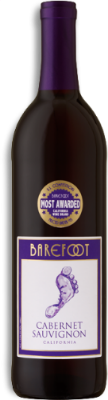 Barefoot Cabernet Sauvignon  - bold berry flavors, black currants, and a warm vanilla finish