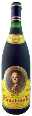 Faustino V 1998 Rioja Reserve  - filled with heady scent of snapping black cherries and vanilla