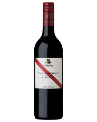 "D'Arenberg ""The Footbolt"" McLaren Vale Shiraz, South Australia  - rich and full-bodied with aromas of ripe blackberry and spice that mingle with minty peppery notes"