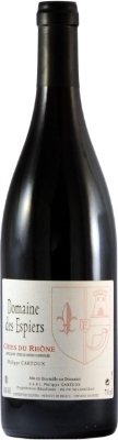 Domaine Des Espiers Côtes du Rhône  - floral and ripe, fresh and balanced, with notes of strawberries and cherries