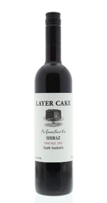 Layer Cake Shiraz  - layered with rich blackberry, dark cherries and hints of dark, creamy chocolate ganache