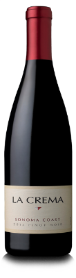 La Crema Pinot Noir  - cherry pie aromas mingle with alluring cocoa, allspice and black tea notes, with flavors of pomegranate, red plum, and orange zest