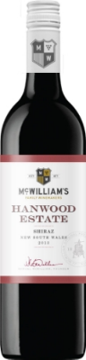 McWilliam's Hanwood Estate Shiraz  - dry and fruit-forward, with raspberry, black cherry, plums, vanilla, and a touch of oak, this wine is a flavor powerhouse at a great value