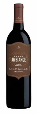 Belle Ambiance Cabernet Sauvignon 2014  - super plummy, like blackberry jam, with luscious body, medium-lowish alcohol, and glowing tannins that are long on the finish. Young and bright, it mellows a bit if you let it open for 30 minutes or so
