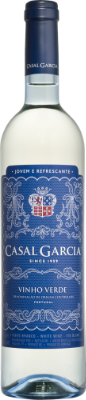 Casal Garcia Vinho Verdo - this wine is tart:  super crisp and citrusy, with a light hint of floral pineapple. It's a bit bubbly, too!
