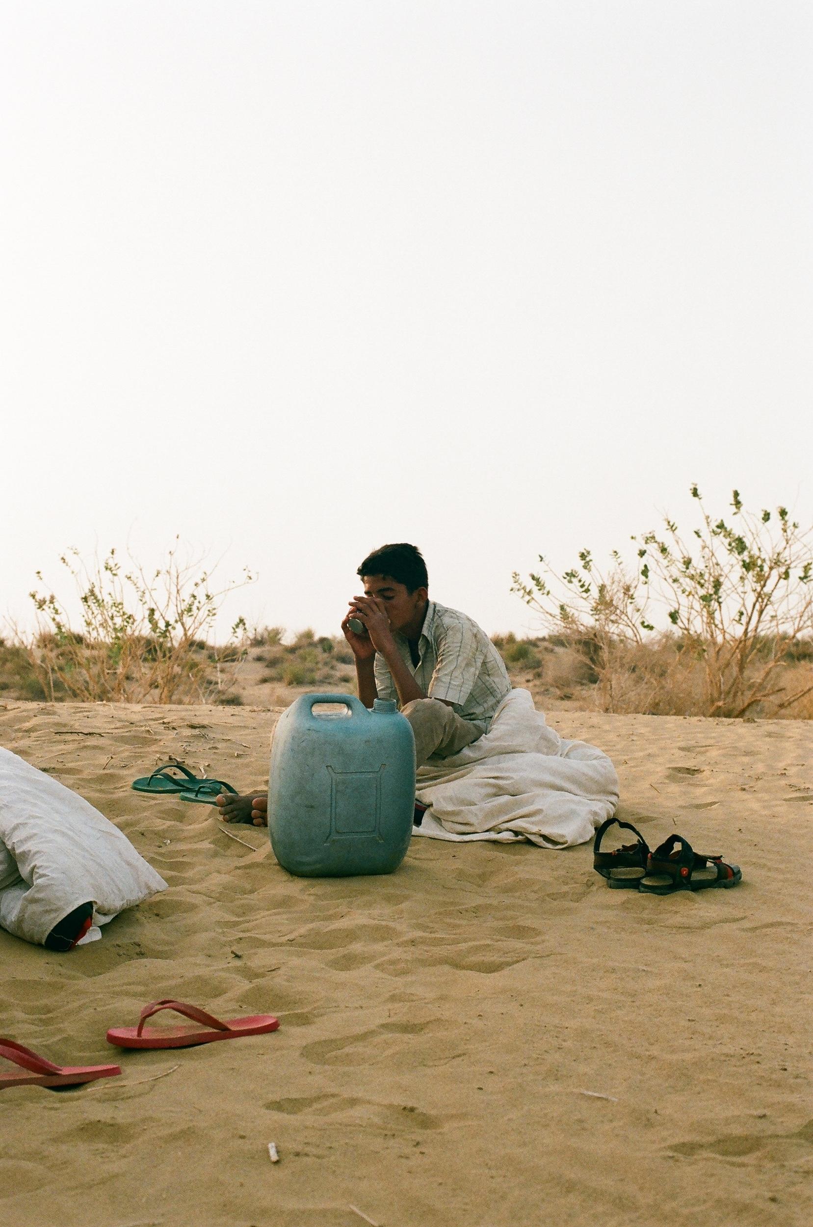 Sandy Desert of Rajasthan, India
