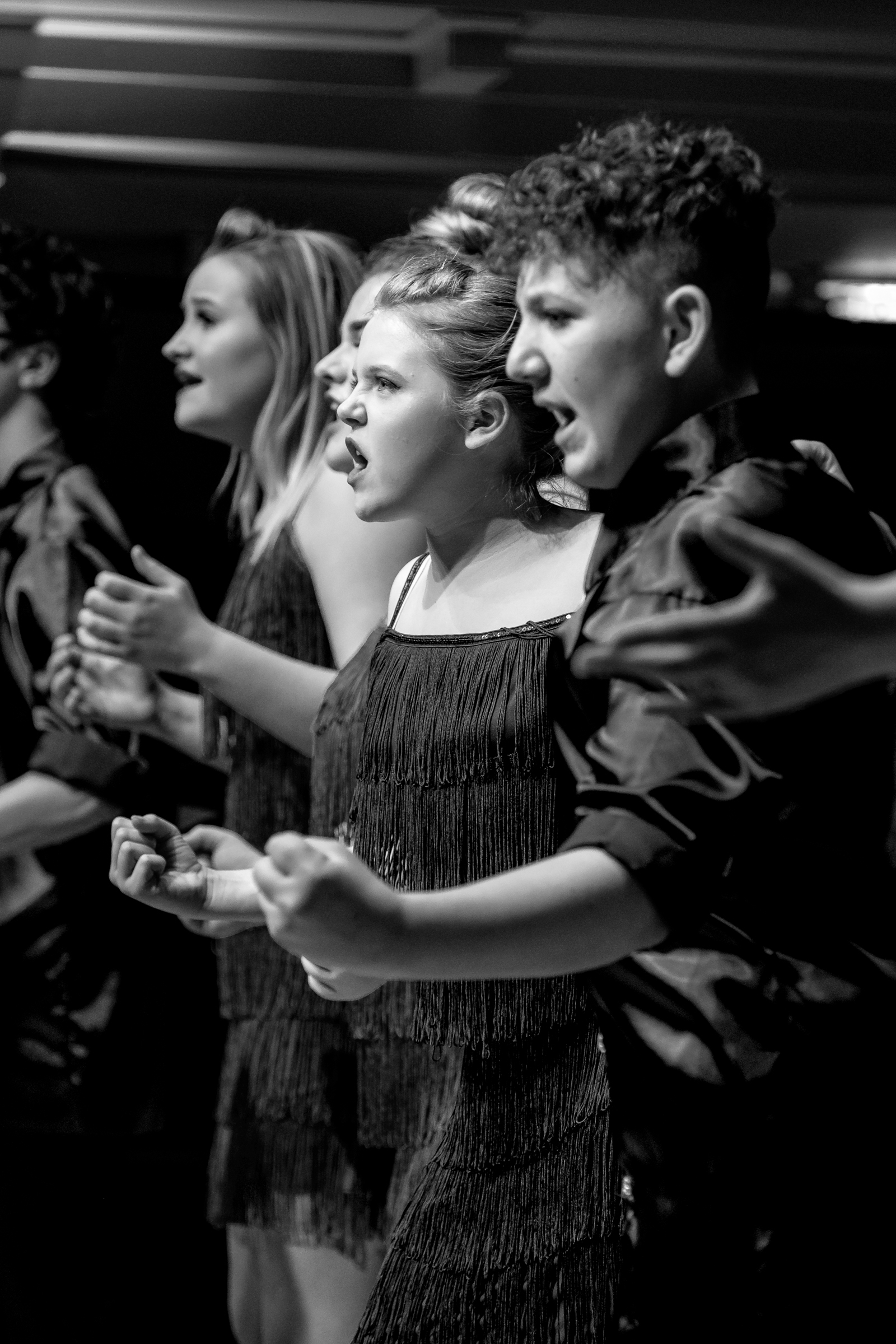 Amplify performing at St George's Bristol. Photo by Stewart McPherson
