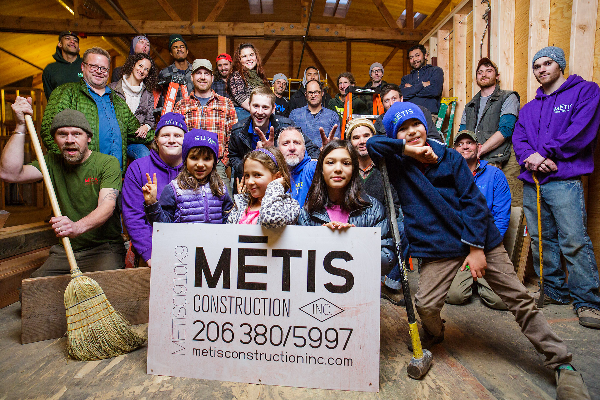 Metis Construction  is a worker cooperative formed out of CIE's Cooperative Academy in 2015. CIE partnered with over 50 organizations and was supported with funding from the Small Business Association to offer this innovative programming. Metis Construction offers residential and commercial building services, and their worksites can be found all over Seattle. Learn more about their conversion to a cooperative  in this nice article.