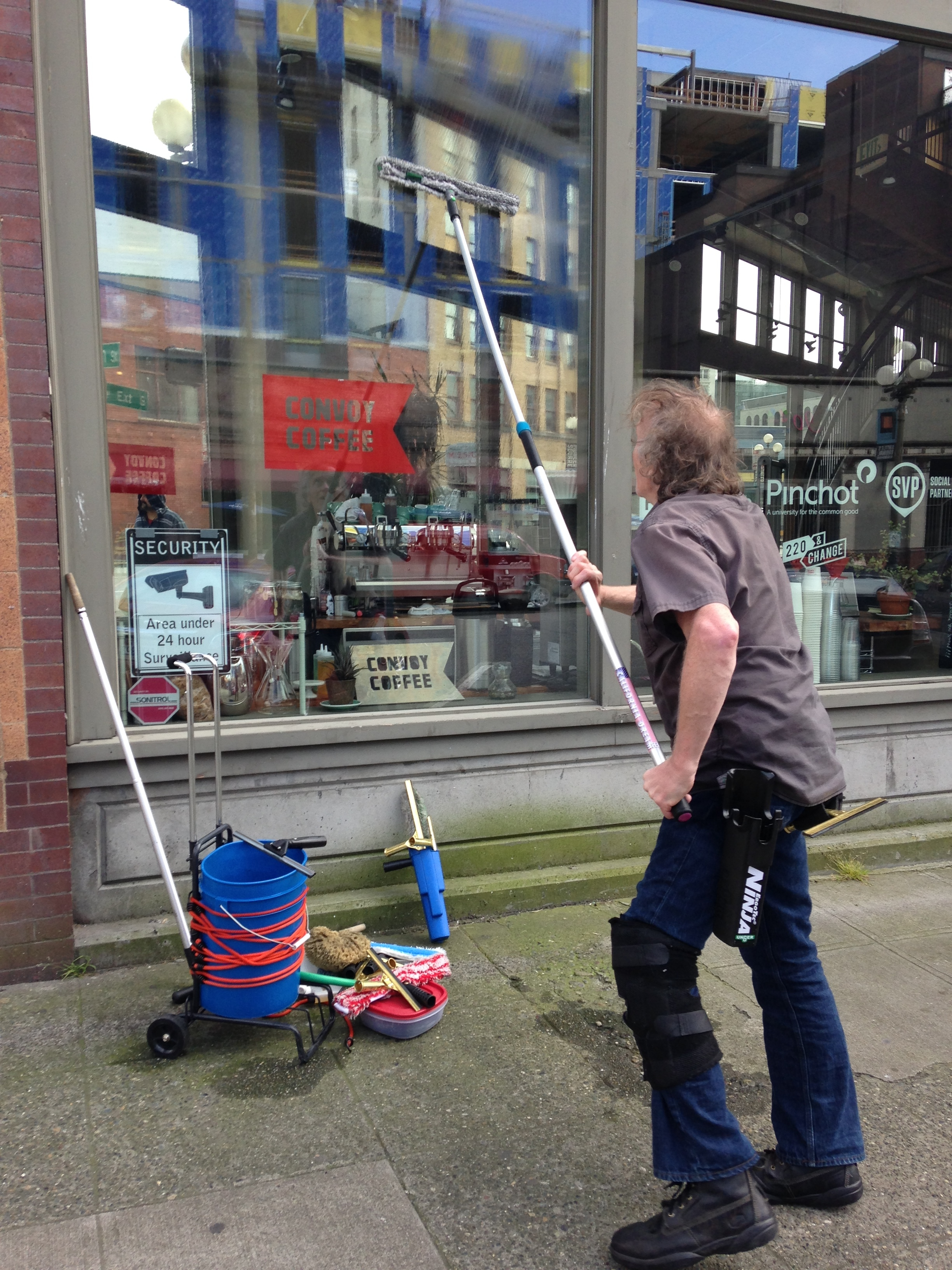Universe Window Cleaning, Seattle