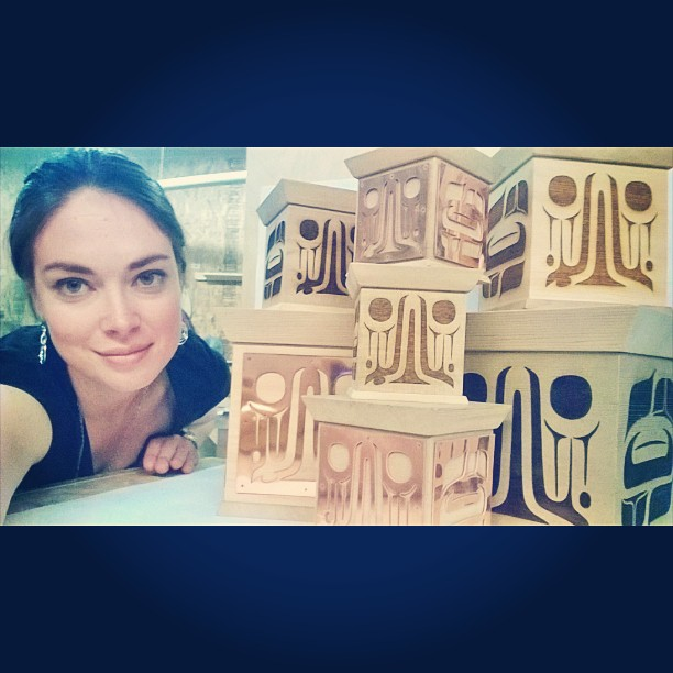 Alyssa and her boxes.jpg