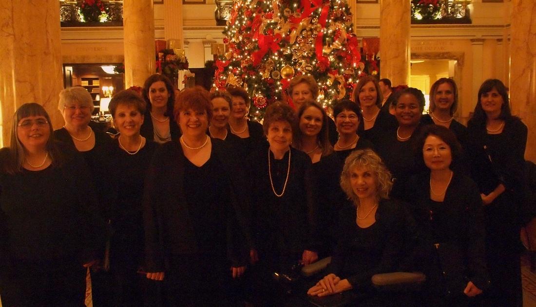 The Willard Hotel Holiday Caroling