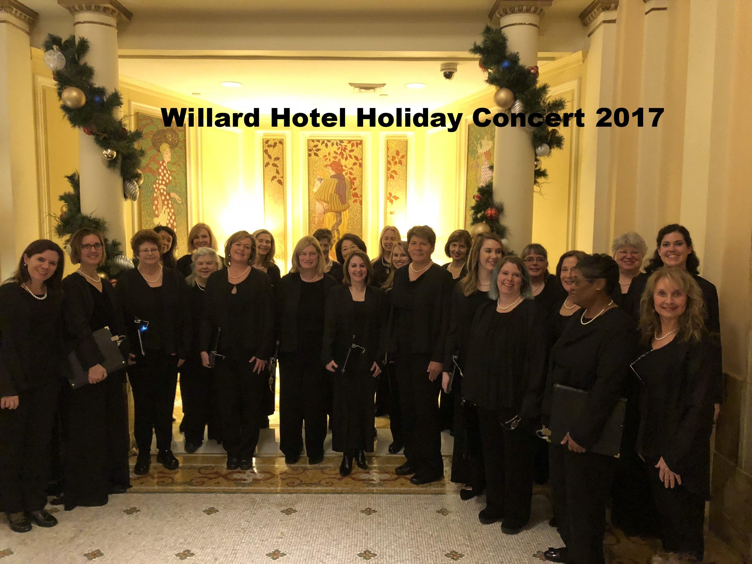 Willard Hotel 2017