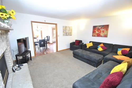 Living Room  SPACIOUS, COMFY & ENTERTAINING