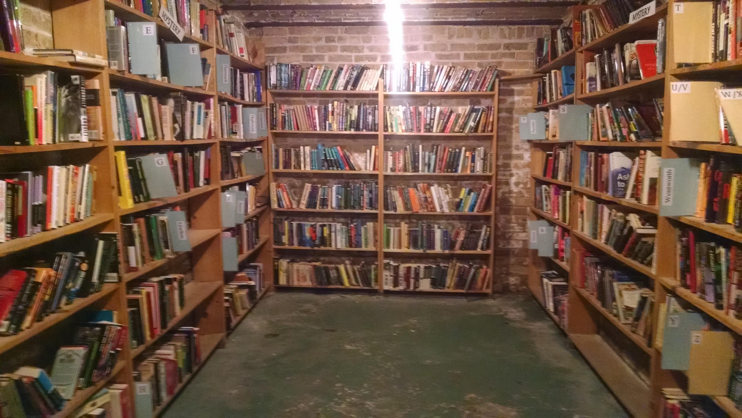 Abandon hope, all who enter the basement. Not really, but it's a BASEMENT.