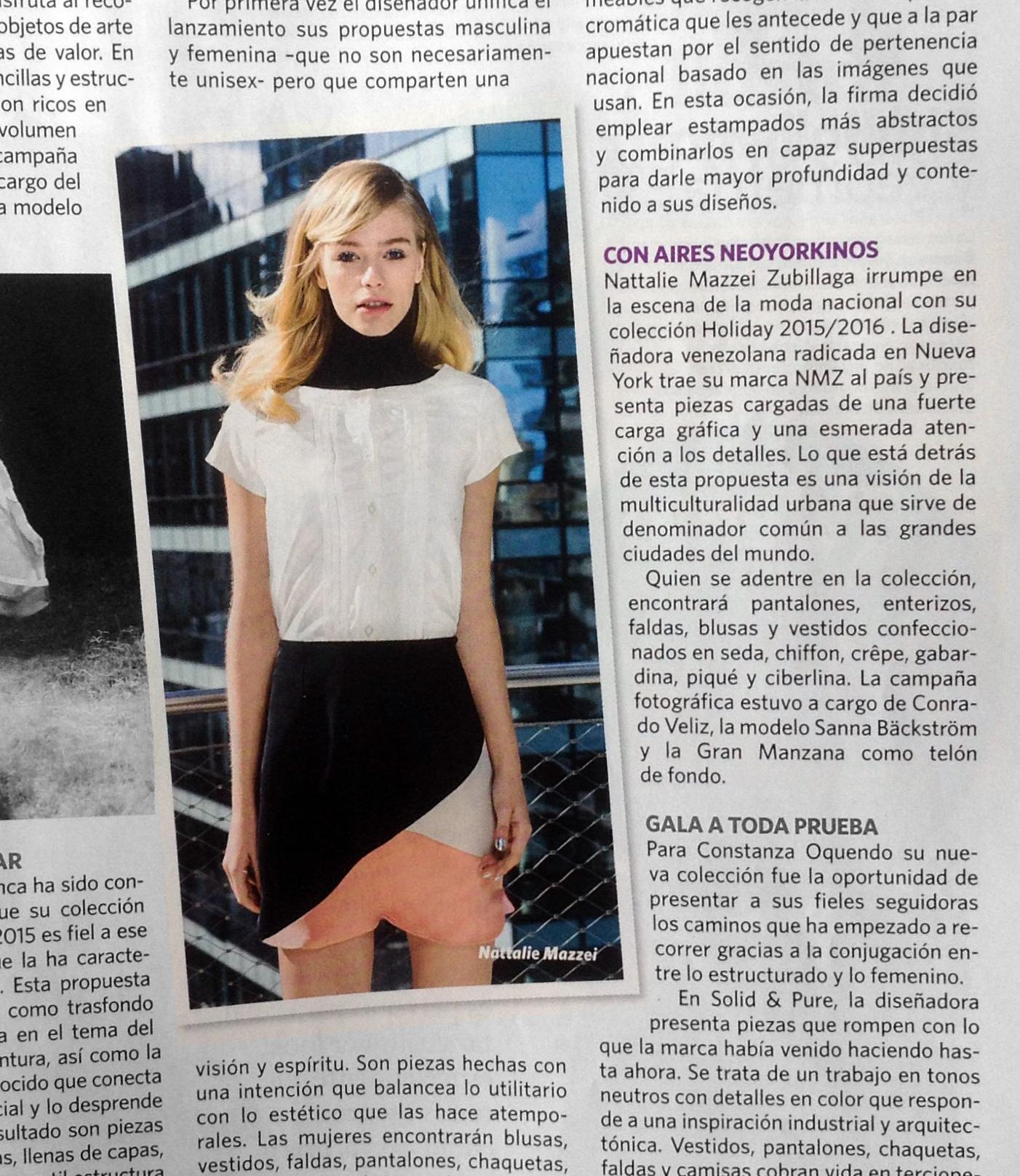 Revista VARIEDADES - Diciembre 2015