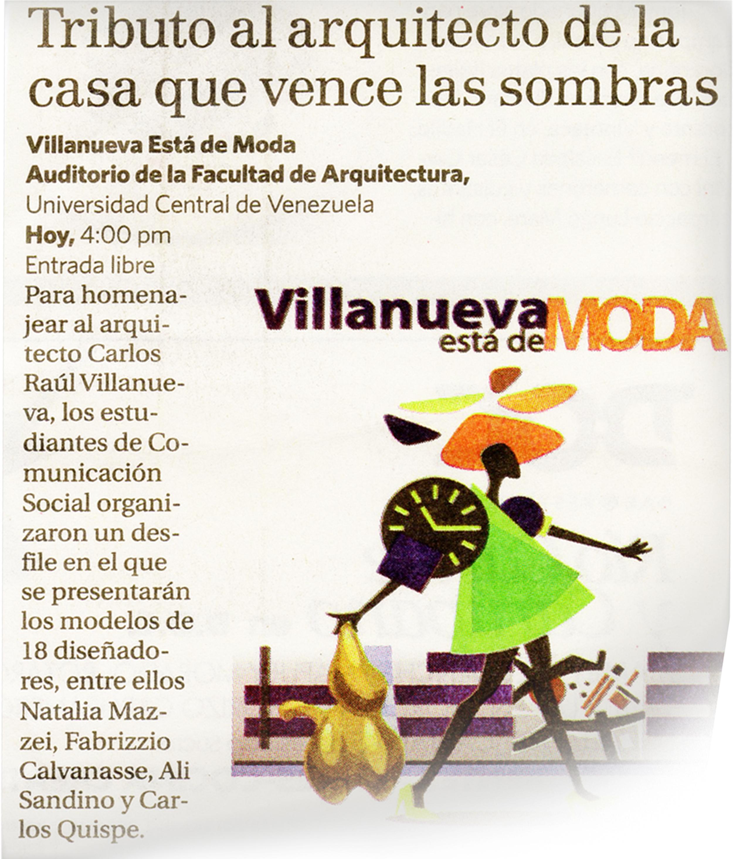 Diario ÚLTIMAS NOTICIAS - Marzo 2012