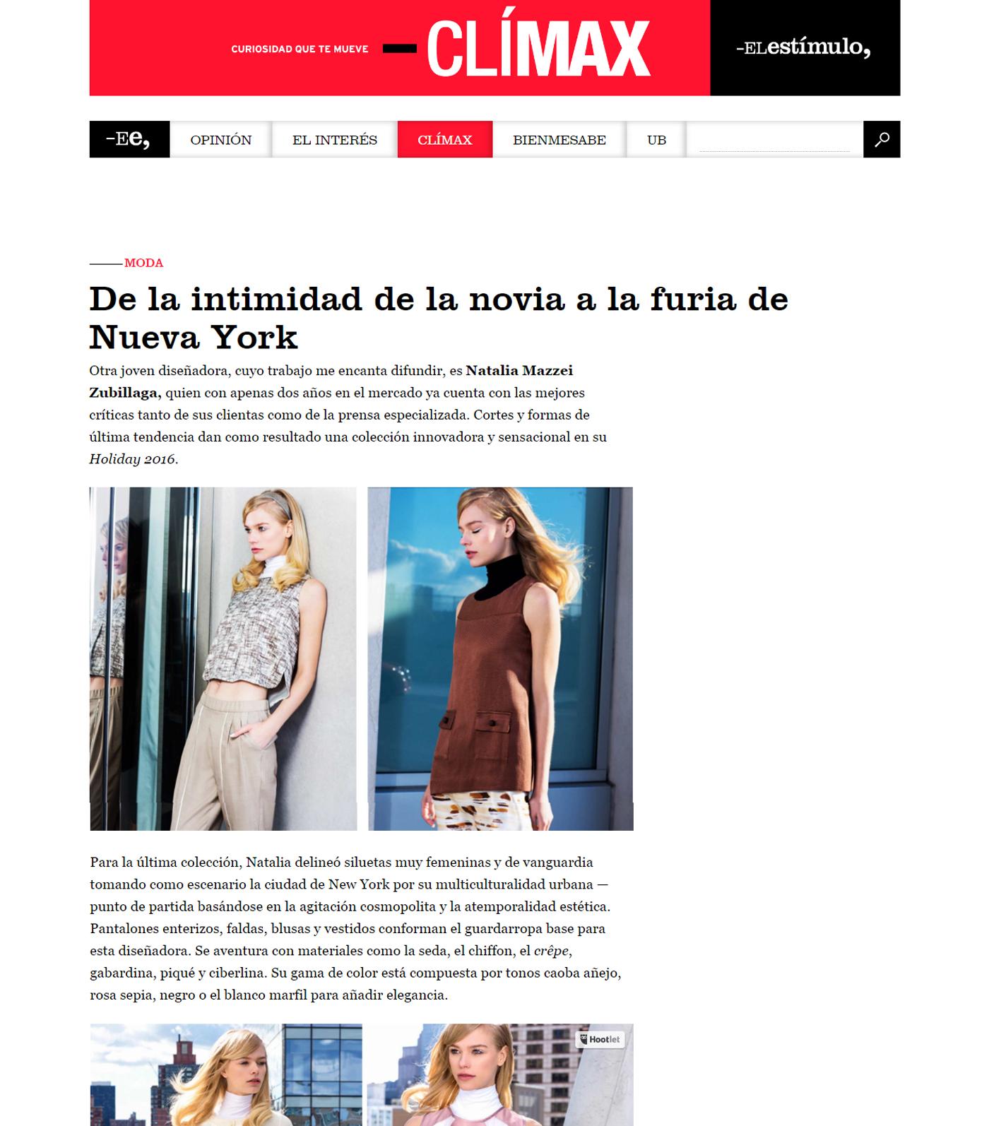 www.elestimulo.com  - Abril 2016