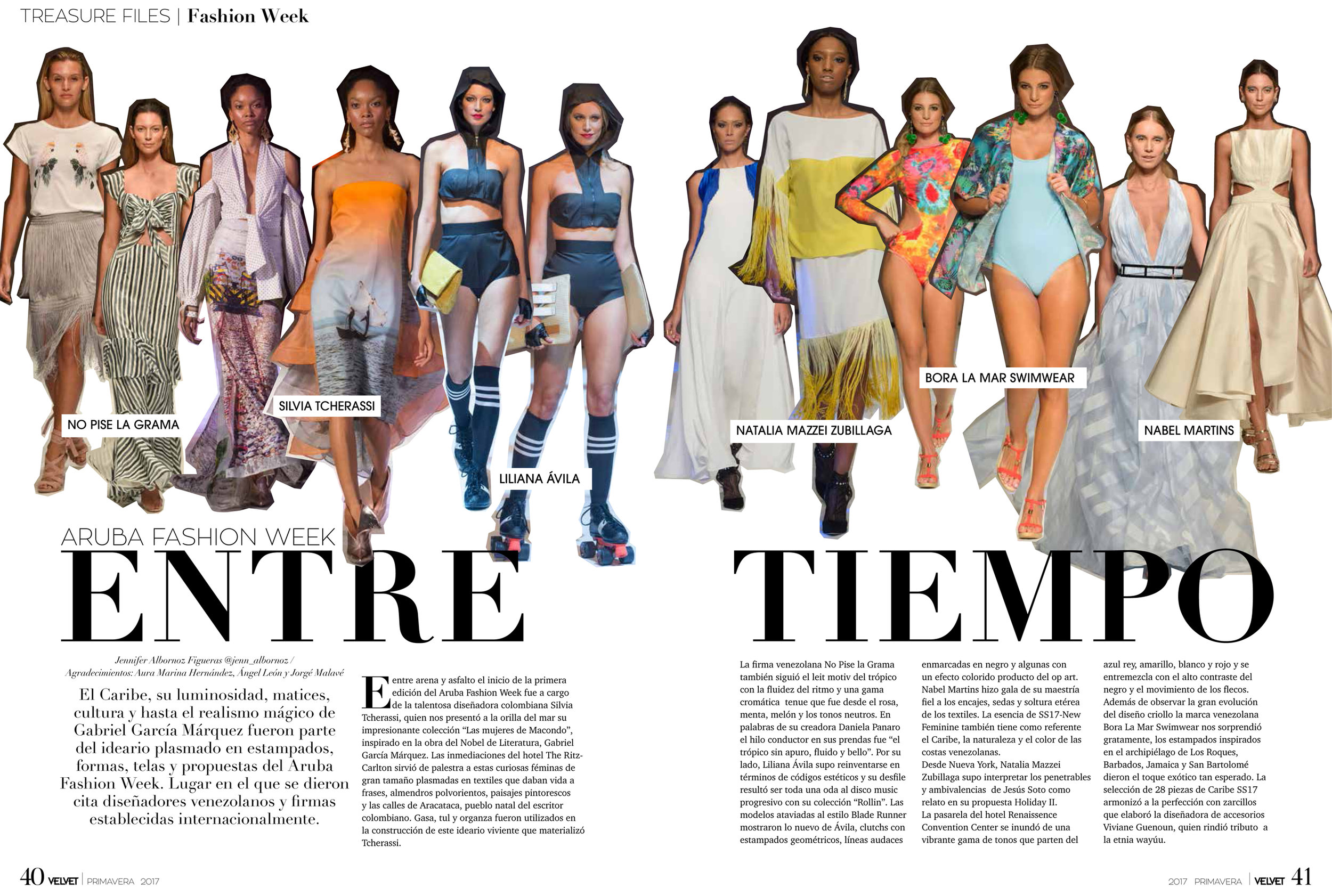 Revista VELVET - Marzo 2017
