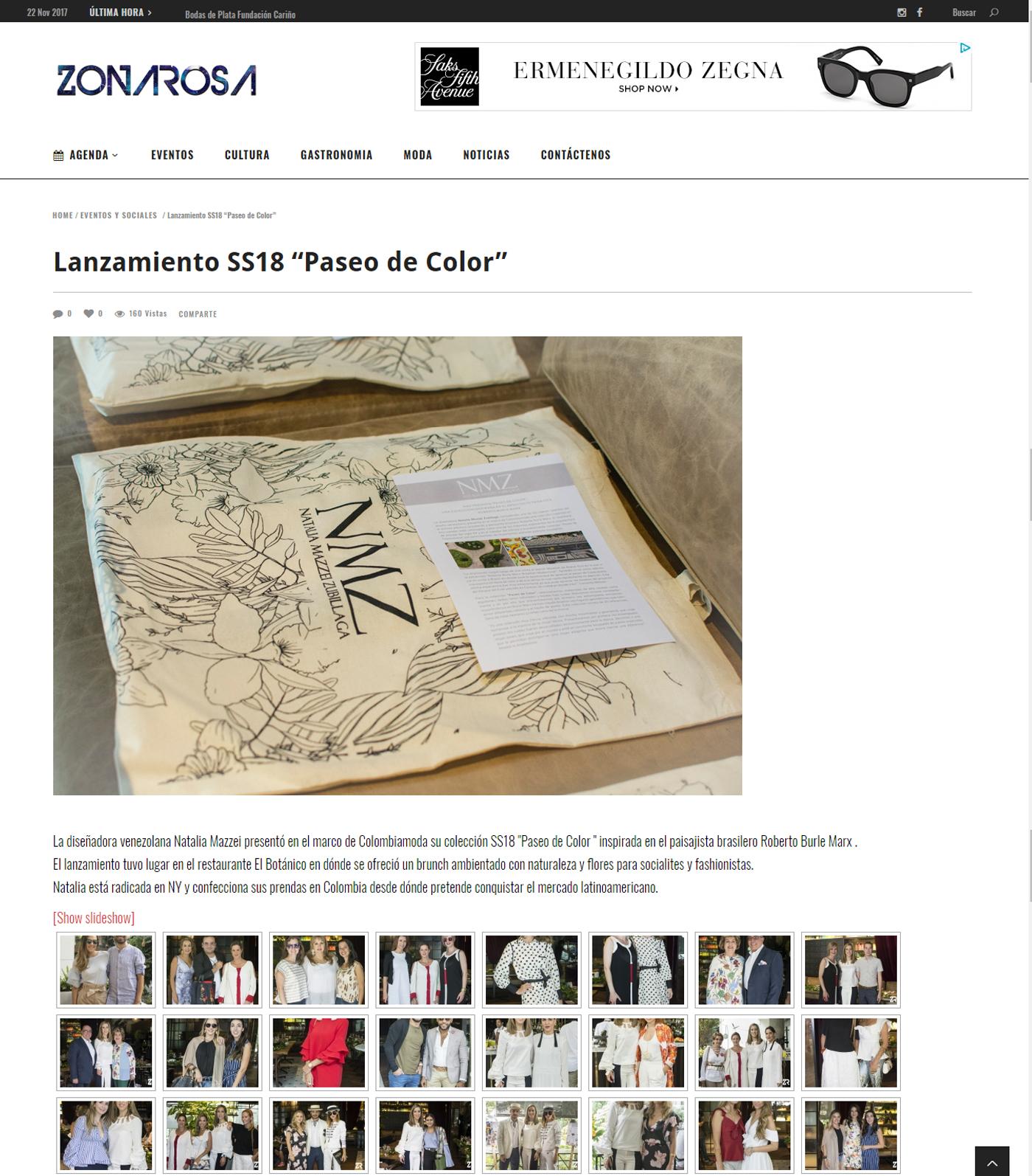 www.zonarosa.co  - Julio 2017