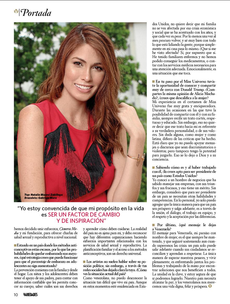 Revista VARIEDADES - Octubre 2017