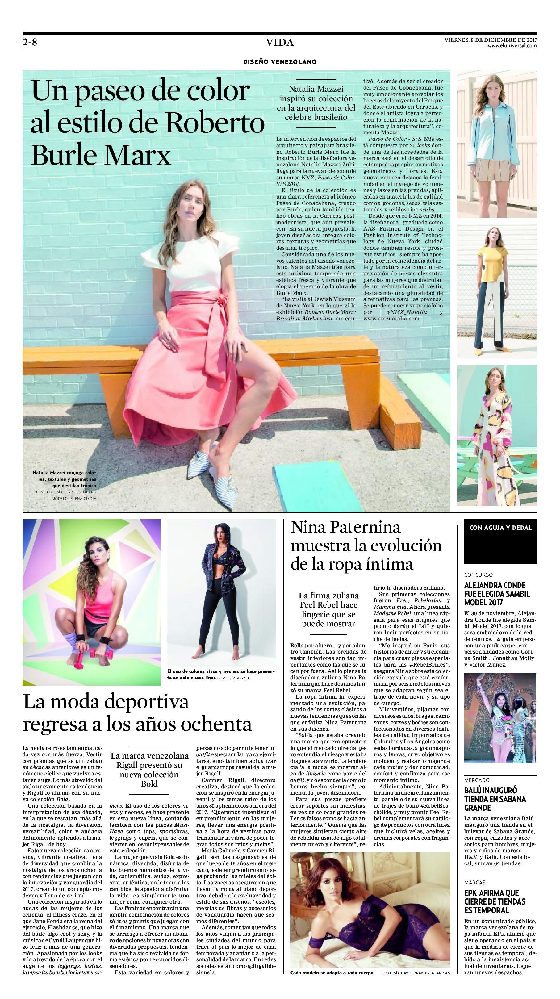 Diario EL UNIVERSAL - Diciembre 2017