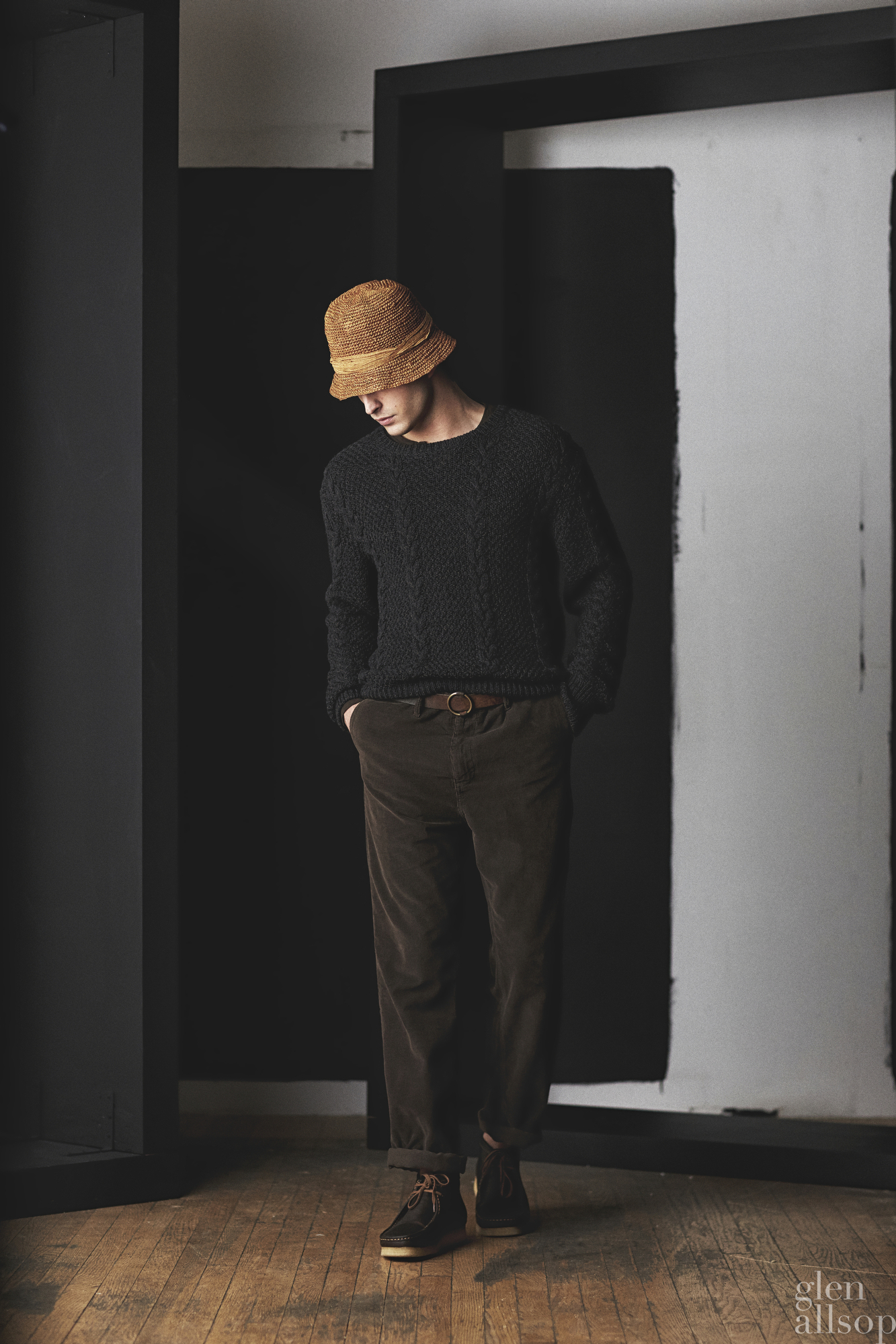 cable knit-eidos-lookbook-wallaby shoes