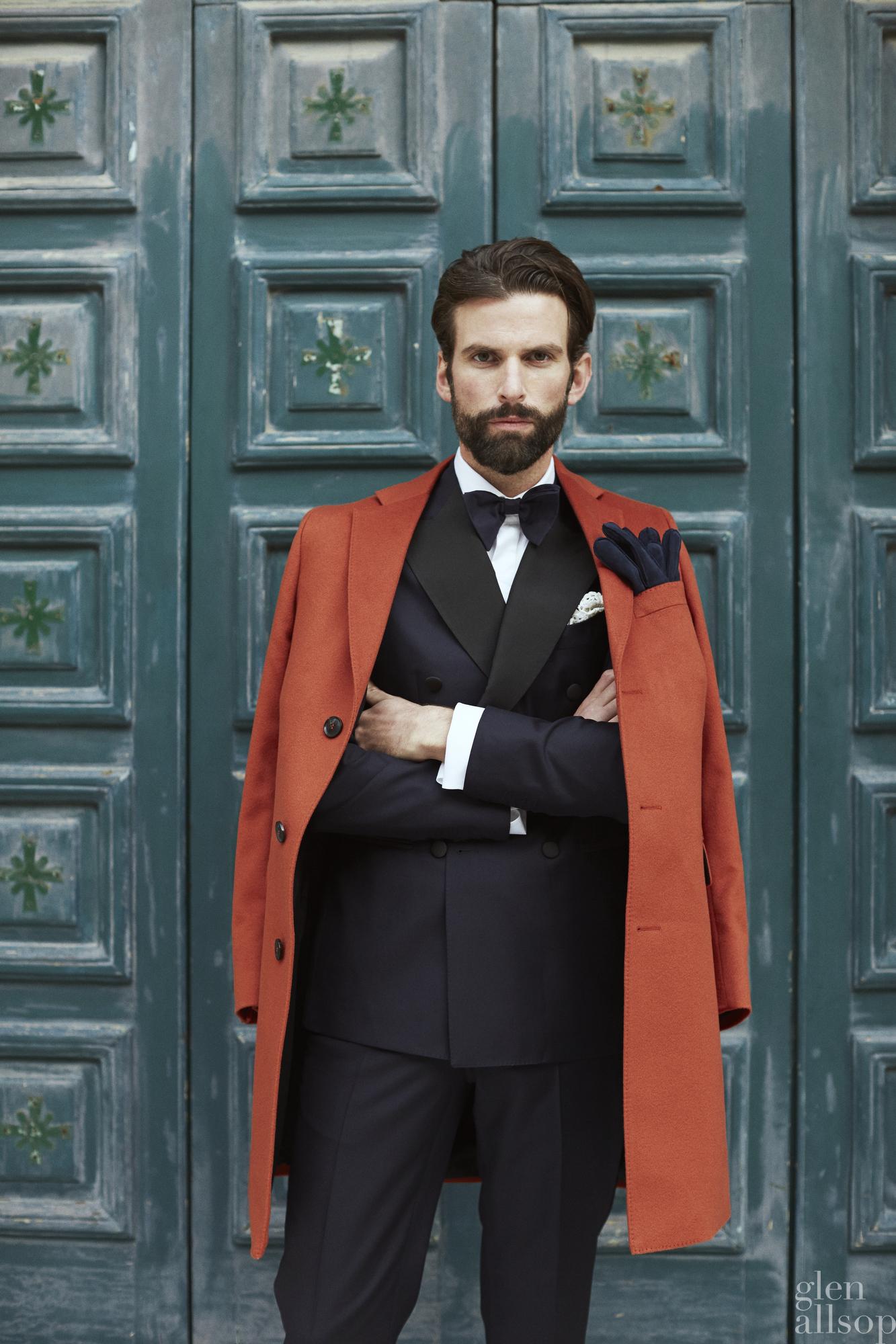 tuxedo-orange top coat-marcus malmborg