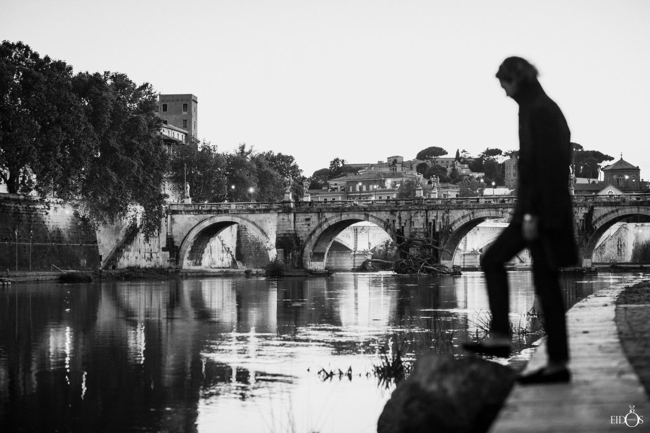 rome evening-black and white-glen allsop