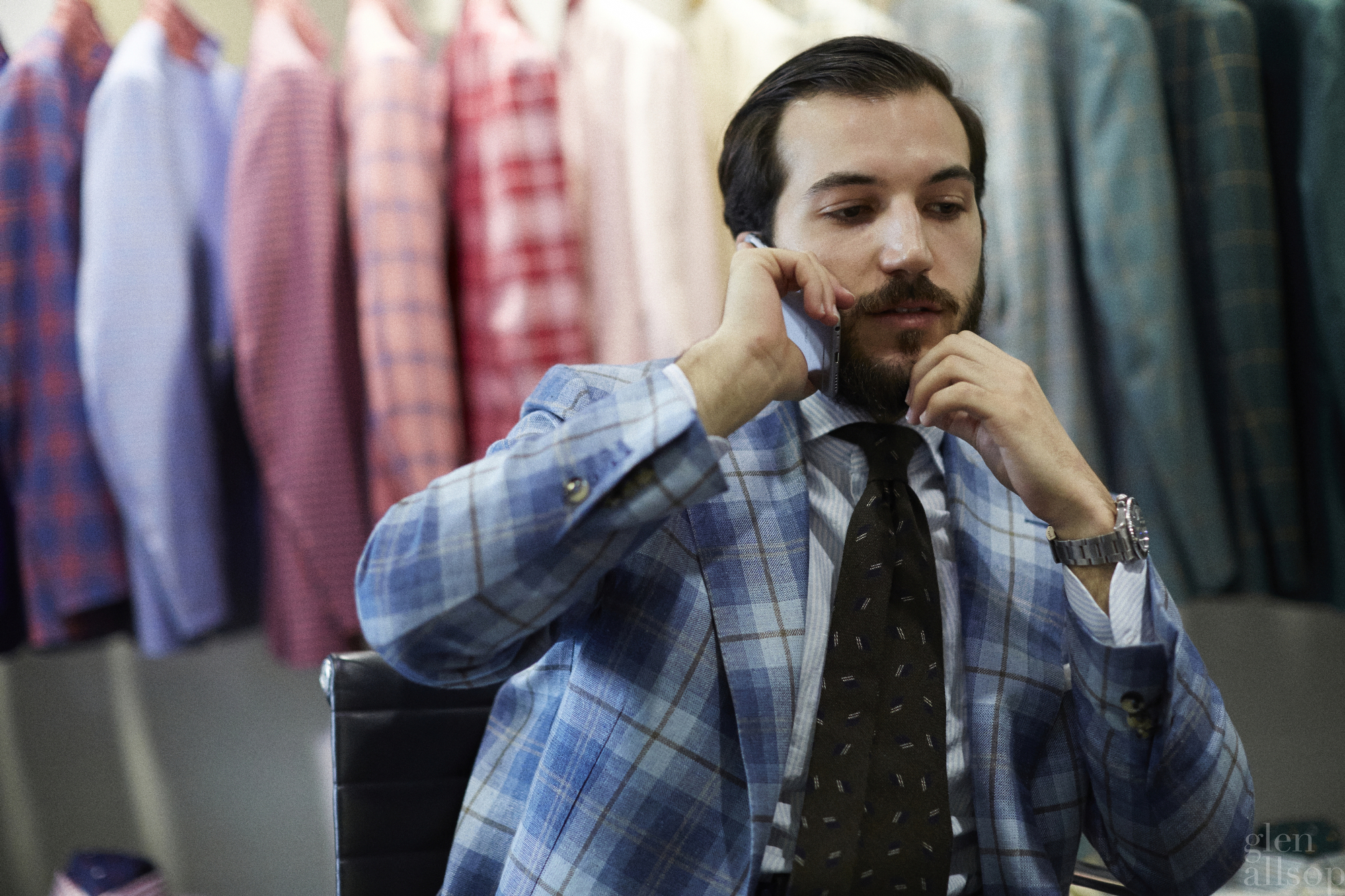 alexander restivo-isaia-colorful suits