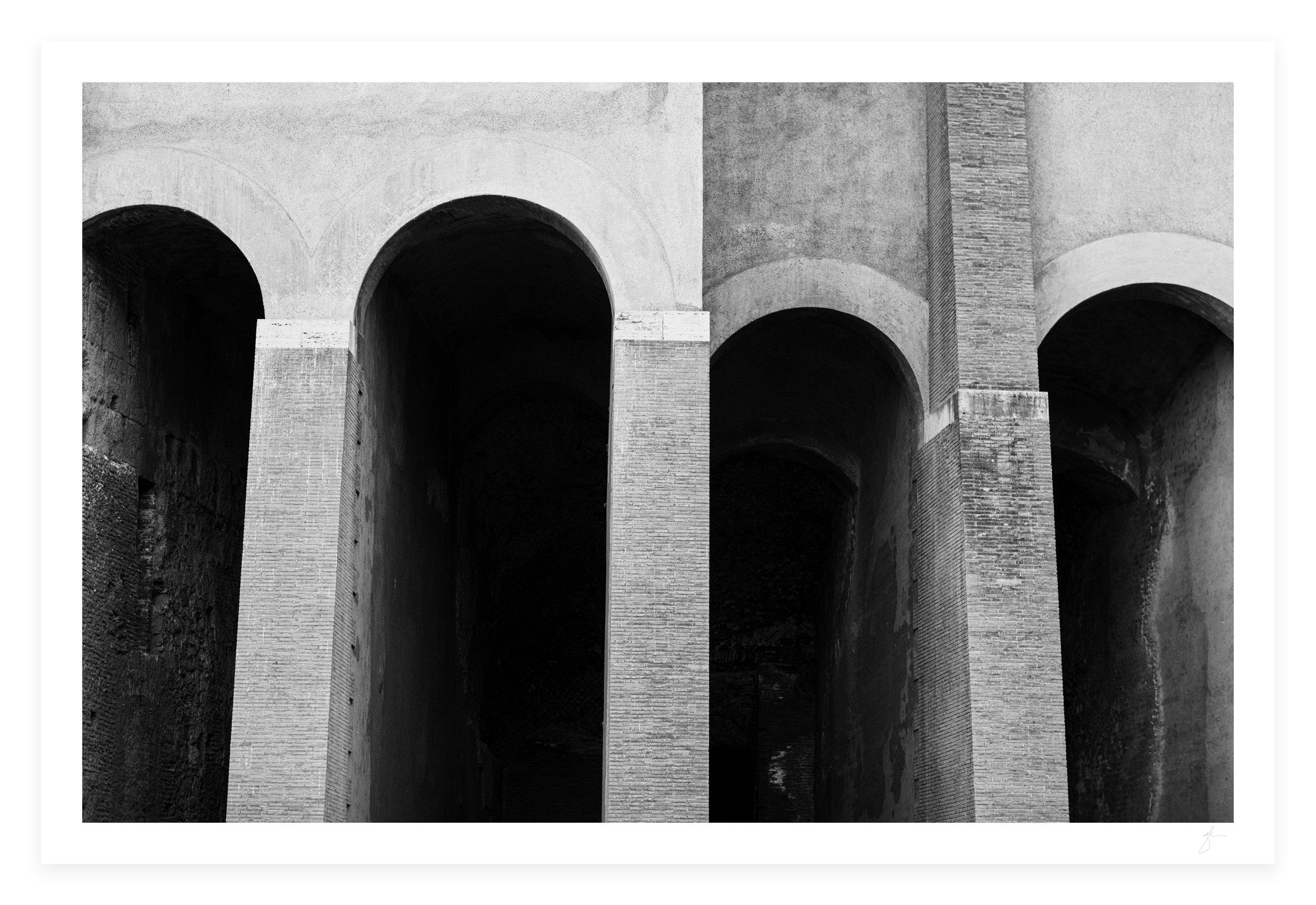 Glen Allsop Roman Arch Print