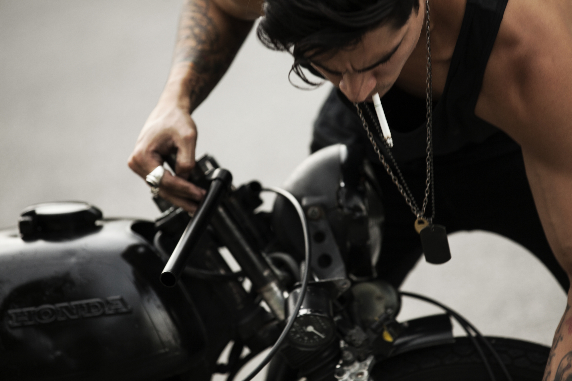 Cafe Racer - EDITORIAL