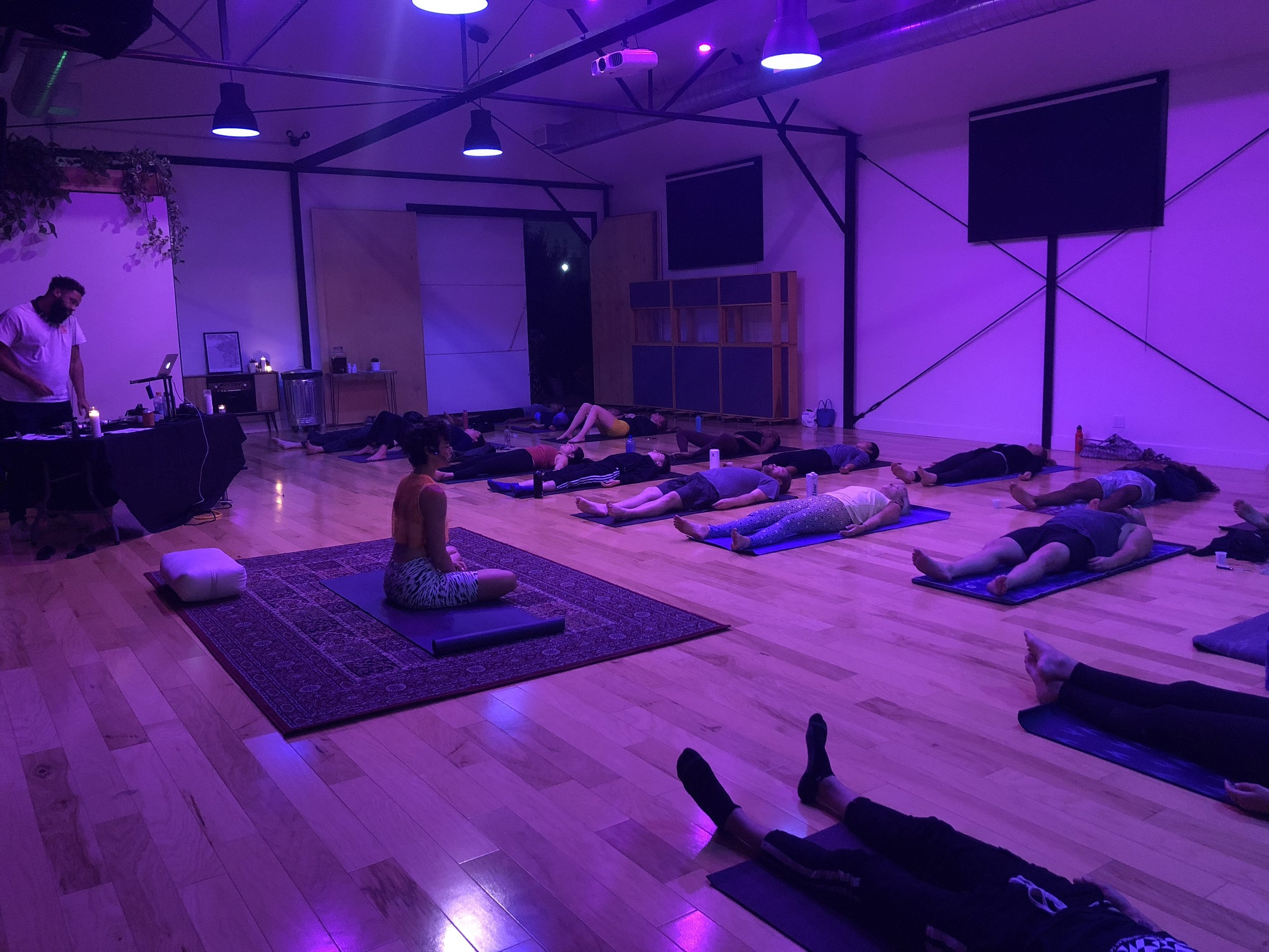STONED YOGA MOVED LA