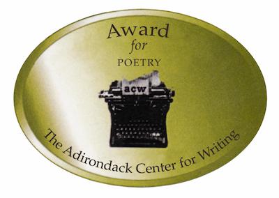 ADIRONDACK CENTER FOR WRITING BEST POETRY AWARD 2012