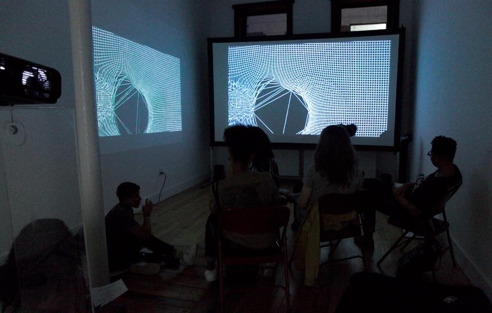 Spicy-Films: Left Unsaid 2 film screening at Eyedream, part of Eyedream residency.
