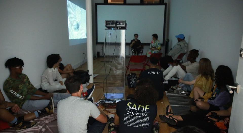 Spicy-Films: Left Unsaid 2 discussion at Eyedream, part of Eyedream residency with BUFU
