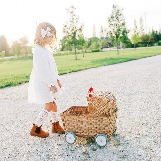 Meet Strolley by @olliella, a revolutionary design in imaginative play. This hand-woven rattan basket on wheels switches from a pram to a shopping trolley, by just lowering the hood of the pram 🧸⠀ .⠀ Perfect for dolls, pretend play, fruits and veggies or for your little one to push around their favourite toys⠀ .⠀ Open T-S | 11-5⠀ .⠀ 🏷️ September Sale: Find 35% - 50% off selected items!⠀ . ⠀ 📷: @lynseycorbettphotography ⠀